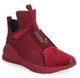Puma Fierce Velvet Slip-On Sneakers