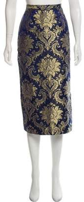 Dolce & Gabbana Silk Brocade Skirt
