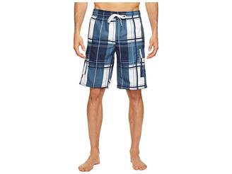 U.S. Polo Assn. Block Plaid Shorts Men's Swimwear