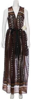 Liviana Conti Sleeveless Maxi Dress