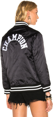 Champion Bomber Jacket $190 thestylecure.com
