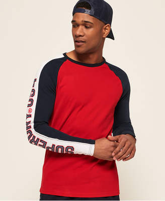 Superdry Retro Stripe Raglan T-Shirt