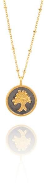 Styleserver DE Satya Halskette Sacred Tree Of Life vergoldet
