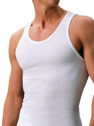 STANFIELD'S Two-Pack Oversize Premium All Cotton Tank Top Undershirt