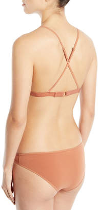 Skin Cotton Tulle Adjustable Triangle Soft Bra