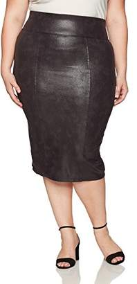 Melissa McCarthy Women's Plus Size Pencil Skirt