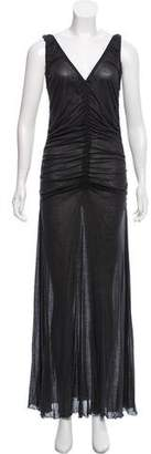 Jean Paul Gaultier Ruched Sleeveless Dress w/ Tags