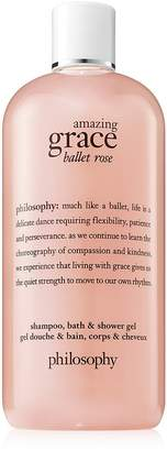 Philosophy amazing grace ballet rose shampoo, bath & shower gel