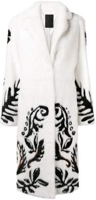 Liska floral pattern coat