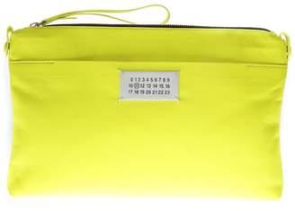 Maison Margiela Fluo Yellow Leather Purse
