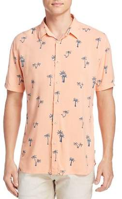 Barney Cools Palm Tree Regular Fit Button-Down Shirt - 100% Exclusive