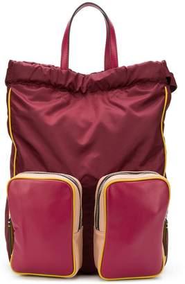 Marni drawstring top backpack