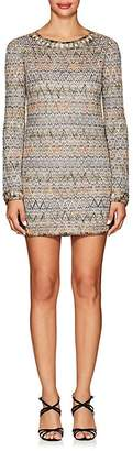 Missoni Women's Metallic Zigzag Cocktail Dress