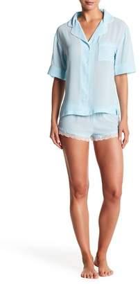 Honeydew Intimates Bridal Chiffon Pajama Set