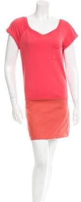 Thakoon Short Sleeve Mini Dress