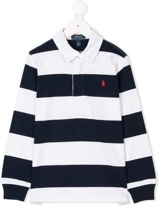 Ralph Lauren Kids striped polo shirt