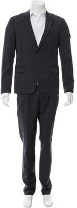 Kenzo Wool Two-Button Two- Piece Suit