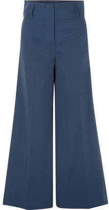 By Malene Birger Kekoa Crepe Wide-leg Pants - Navy
