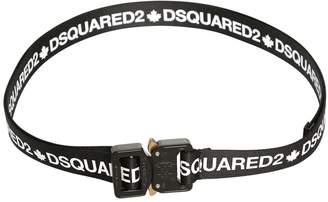 DSQUARED2 25mm Logo Printed Belt