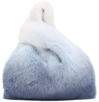 Simonetta Ravizza Mini Furrissima Degrade Mink Fur Bag
