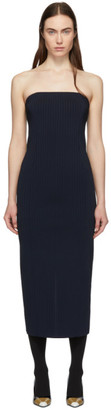 Givenchy Navy Strapless Dress