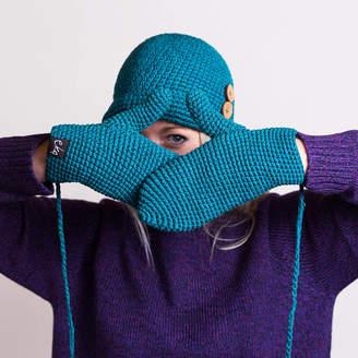 eka Organic Cotton Crochet Mittens