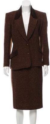 Gucci Tweed Skirt Suit