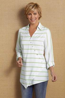Soft Surroundings Washed Tencel® Tunic