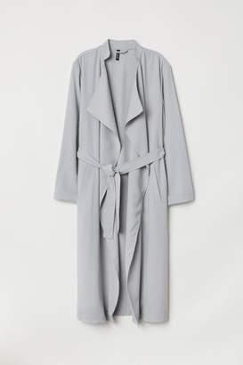H&M Long Trenchcoat - Gray