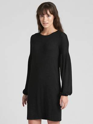 Gap Softspun Balloon Sleeve T-Shirt Dress