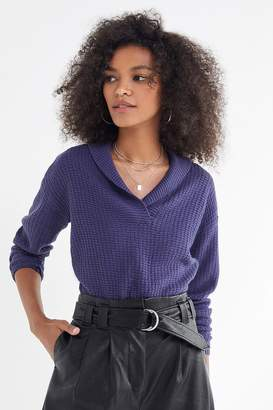 Urban Outfitters Slow Things Down Shawl Sweater