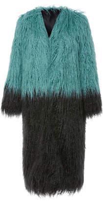 Anna Sui Mongolian Faux Fur Jacket