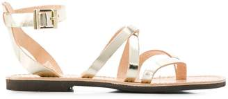 P.A.R.O.S.H. crossover strap sandals
