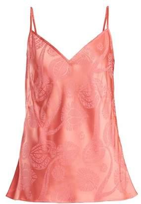 Peter Pilotto Floral Devore Cami Top - Womens - Pink