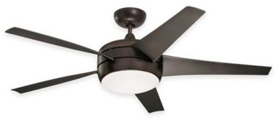 Emerson Midway Eco 54-Inch 4-Light Ceiling Fan in Oil-Rubbed Bronze with Remote Control