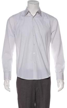 Theory Striped Woven Shirt
