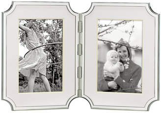 "Kate Spade Sullivan Street Hinged Double 4"" x 6"" Picture Frame"