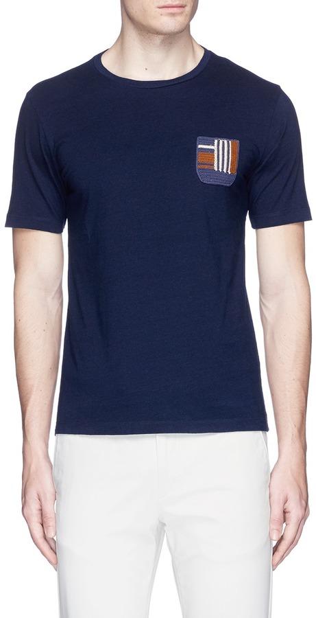 AlteaAltea Knit pocket cotton T-shirt