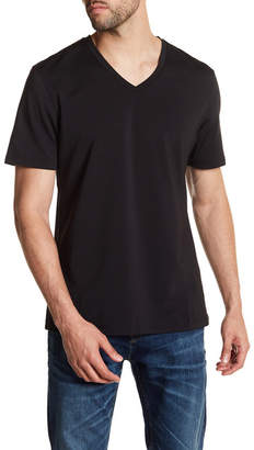 Naked V-Neck Short Sleeve Tee