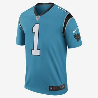 Nike NFL Carolina Panthers Color Rush Legend (Cam Newton) Men's Football Jersey