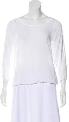 James Perse Lightweight Long Sleeve Blouse