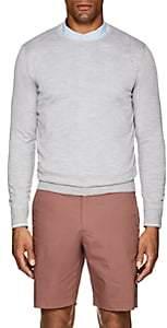 Fioroni Men's Slub Cashmere Sweater - Gray