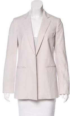 Max Mara Open Front Notch-Lapel Blazer