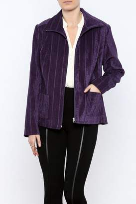 Lee Lana Chenille Zippered Jacket