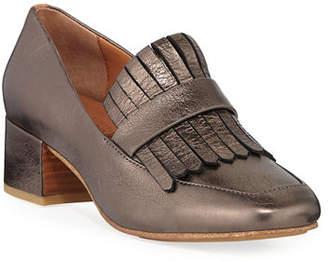 Gentle Souls Ethan Leather Kiltie Loafers