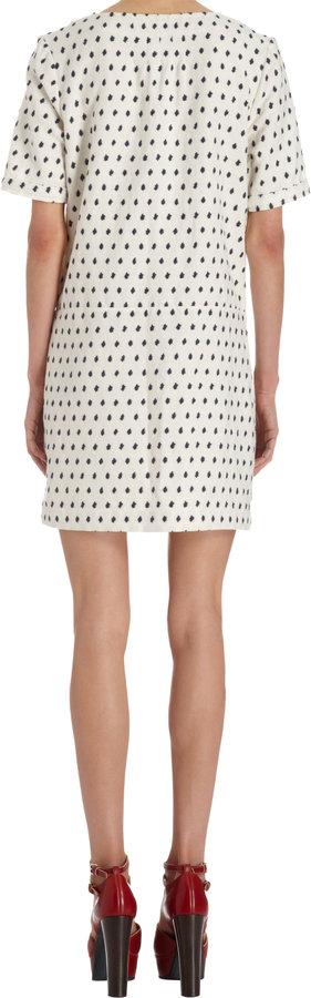 A.P.C. Dot Jacquard Dress