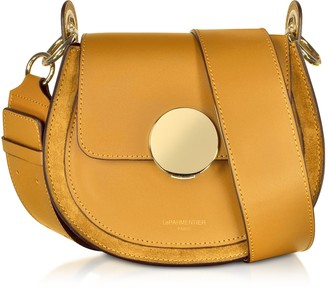 10805ff3823e Le Parmentier Yucca Suede and Leather Shoulder Bag