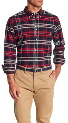 Brooks Brothers Oxford Yarn Dyes Plaid Print Shirt