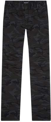 Balmain Camouflage Biker Trousers