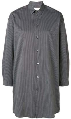 Stephan Schneider striped longline shirt